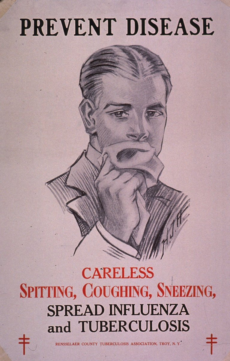 black and white illustrational poster of a man wiping his mouth