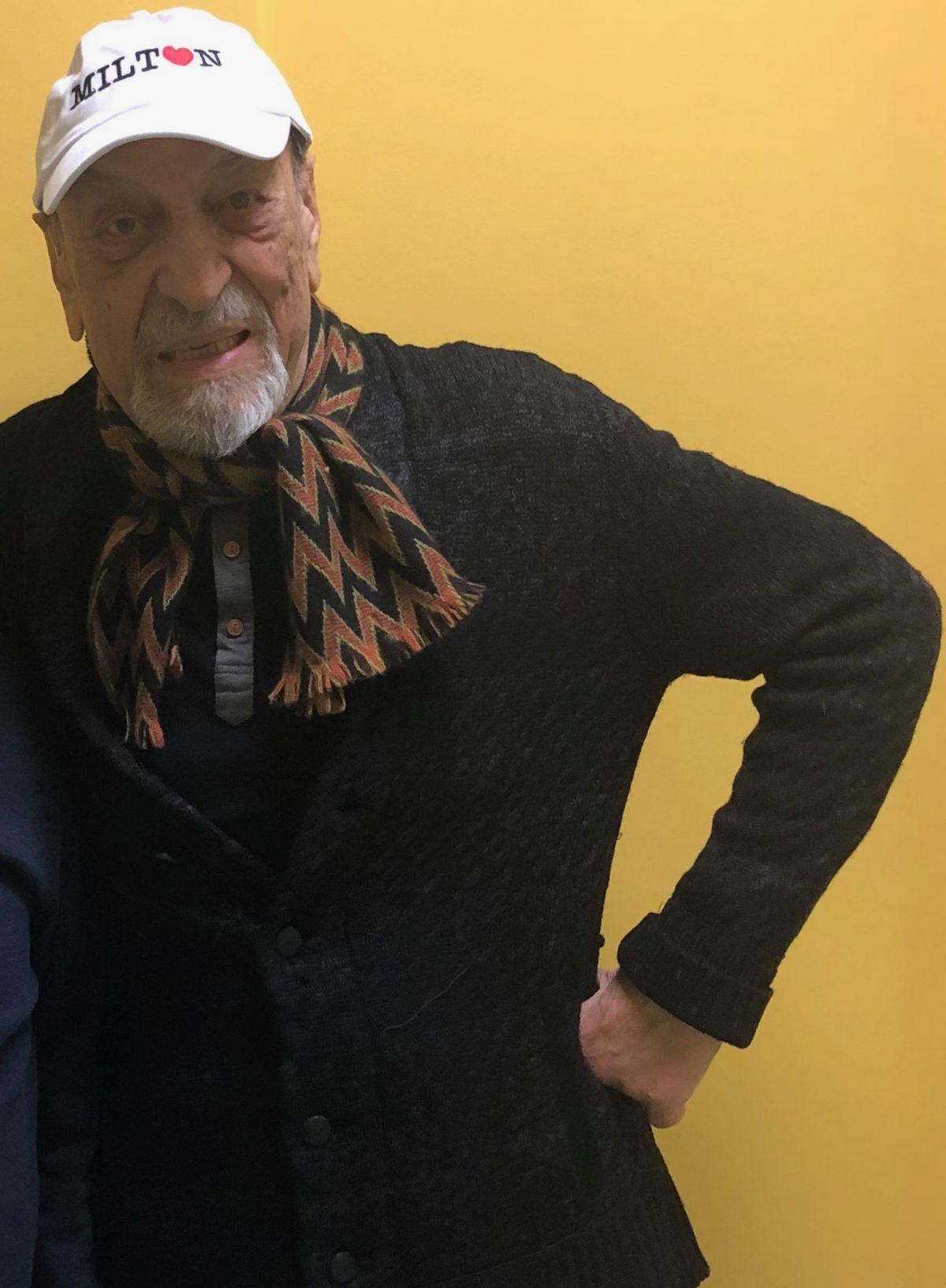 photo of man in black sweater