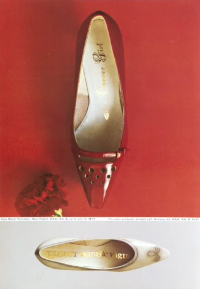 photographic poser of a red high heel