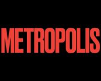 Metropolis Magazine logo in red