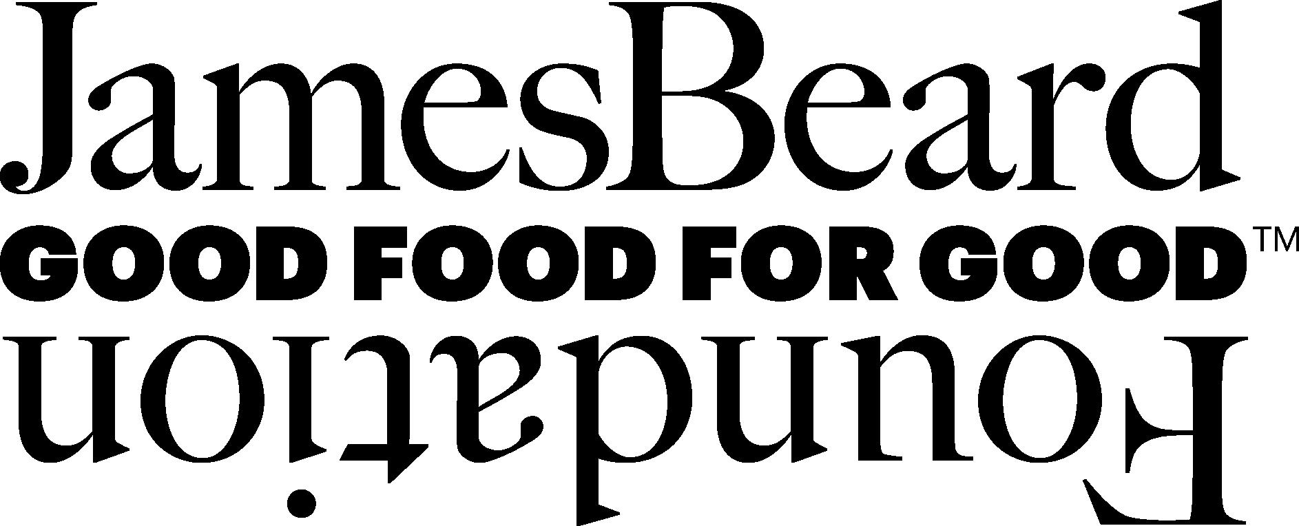 Logo for James Beard Foundation Good Food for Good