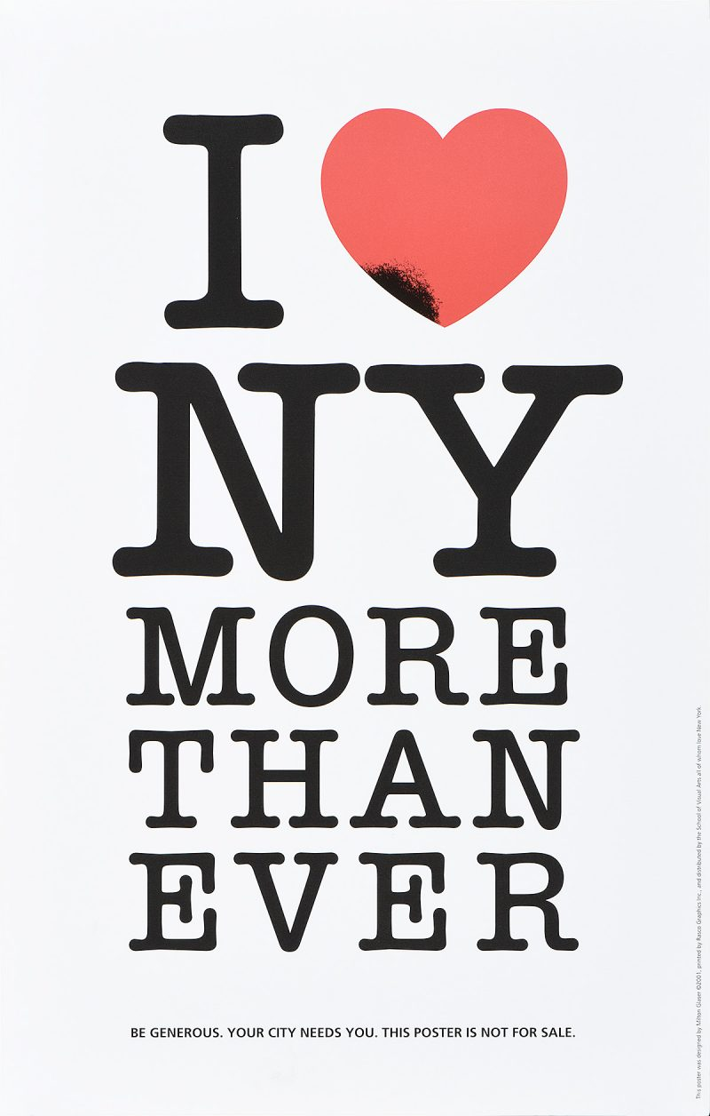 black text on a white background stating i heart new york more than ever